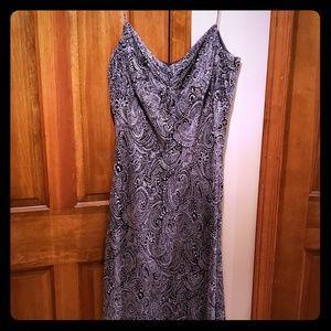 Ann Taylor spaghetti string Vneck dress sz. 14